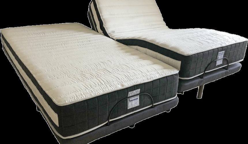 lit électrique et matelas à mémoire de forme